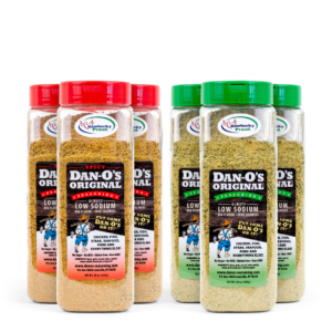 Dan-O's Seasoning Mix and Match 20 OZ bottles - Case of 6