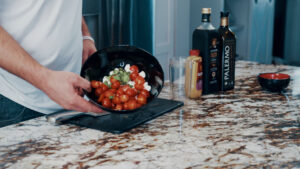 Dan-O's Easy Caprese Salad and Balsamic Recipe Image of finished product