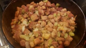 Image of homemade stuffing