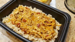 image of drunken chicken on rice