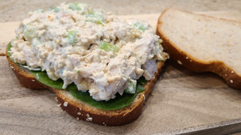 chicken salad sandwiches, ready to eat
