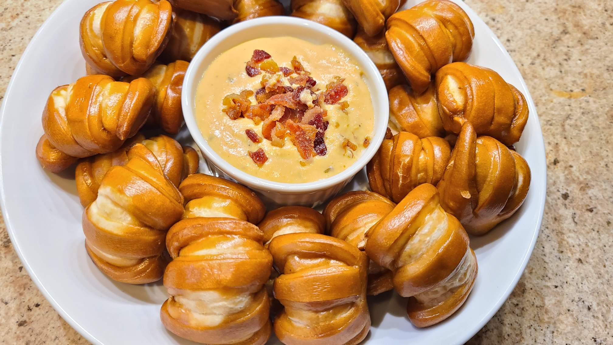 Beer Cheese with pretzels