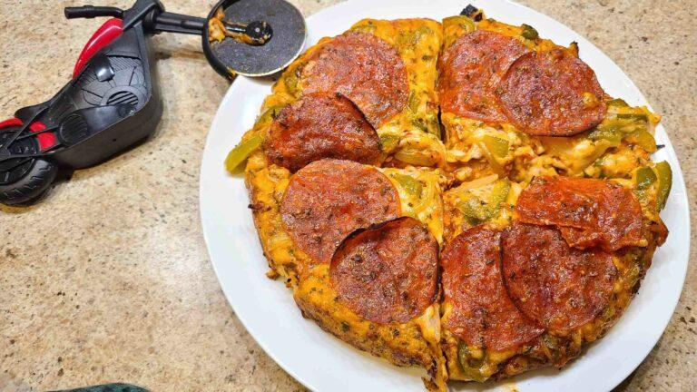 Upside Down Tik Tok Pizza