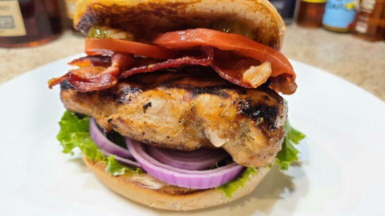Vinaigrette Marinated Chicken Sandwich