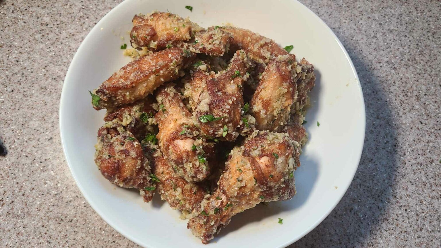garlic parmesan wings